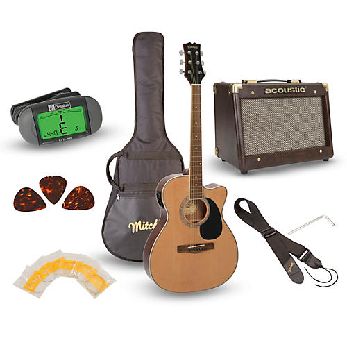 O120PKE Acoustic-Electric Guitar Pack