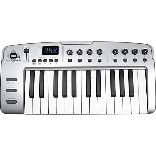m audio o2 usb midi controller musician 39 s friend. Black Bedroom Furniture Sets. Home Design Ideas