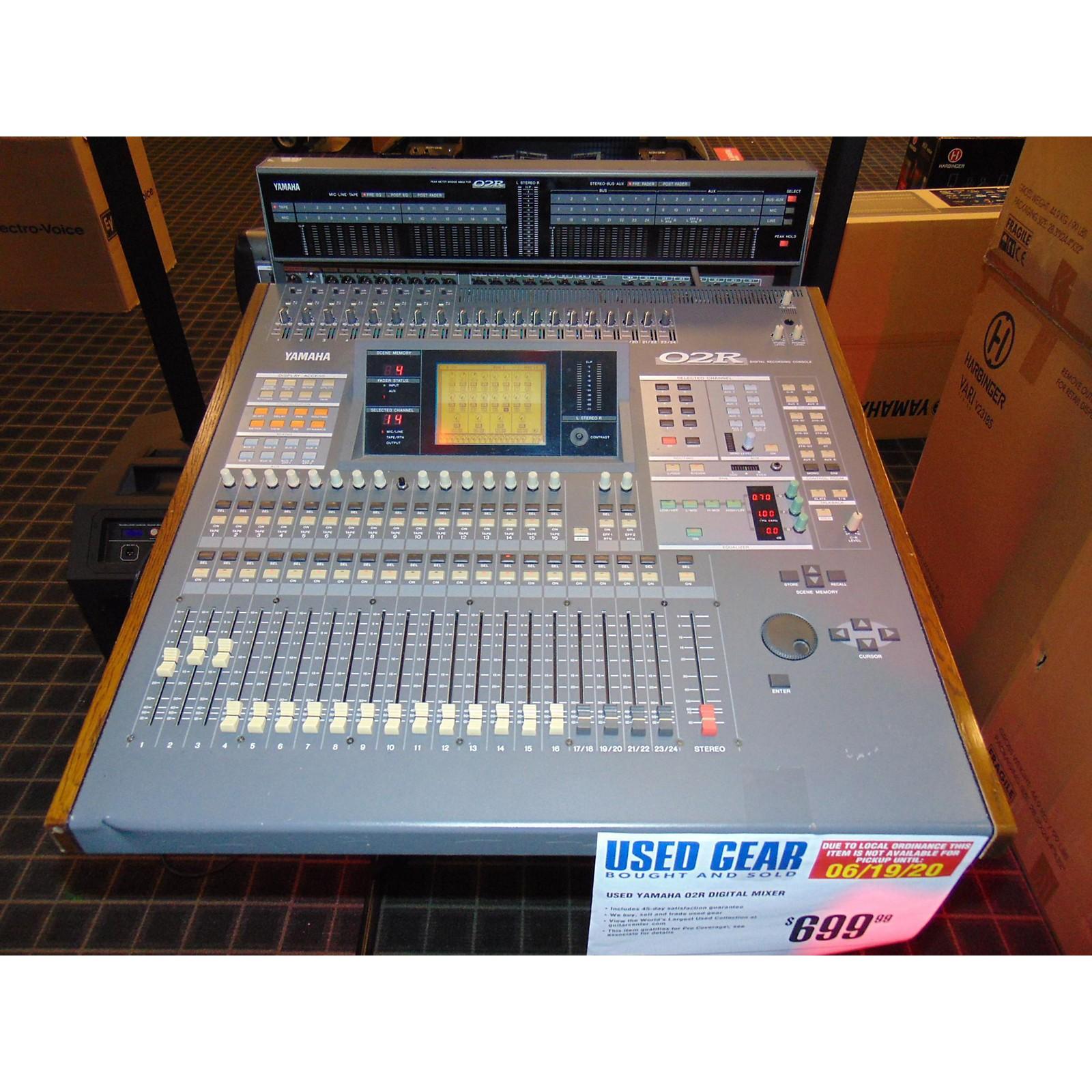 Yamaha O2R Digital Mixer