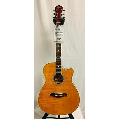 Oscar Schmidt OACEFN Acoustic Guitar