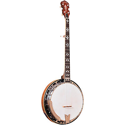 Gold Tone OB-250+ Professional Bluegrass Banjo For Left Hand Players