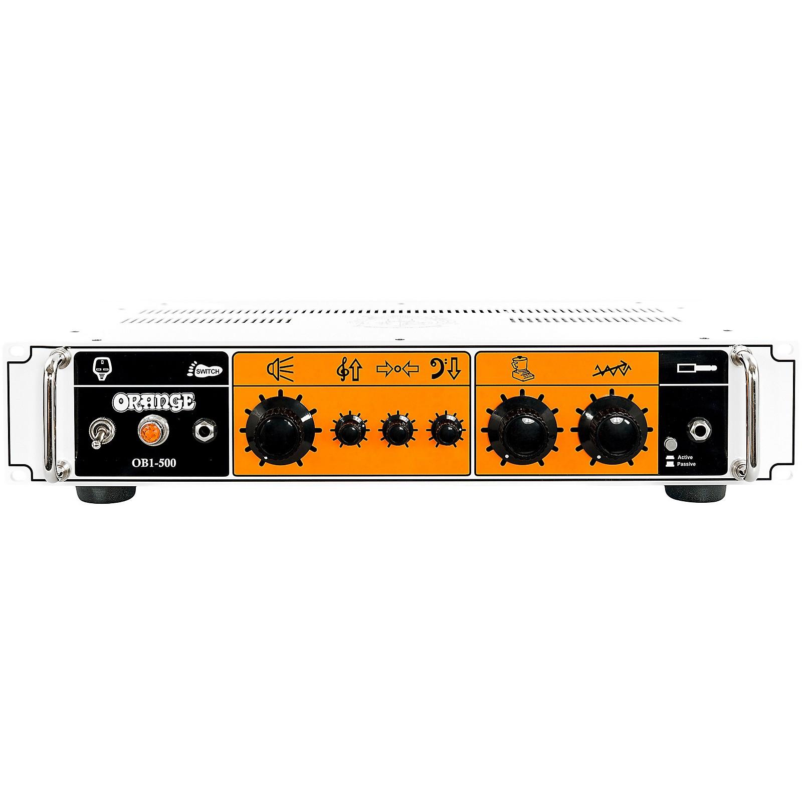 Orange Amplifiers OB1-500 500W Analog Bass Amp Head