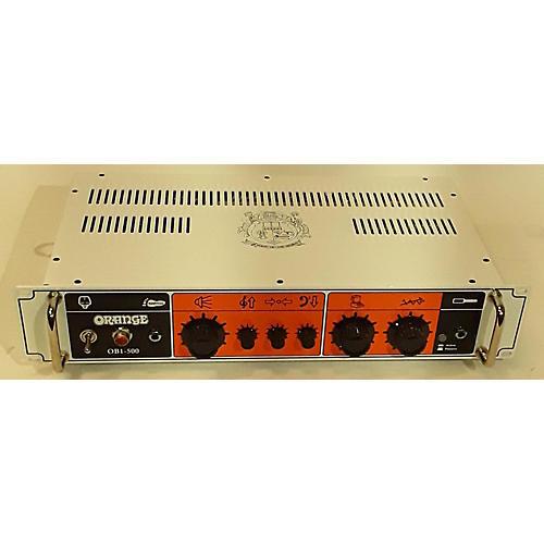 OB1 500 Bass Amp Head