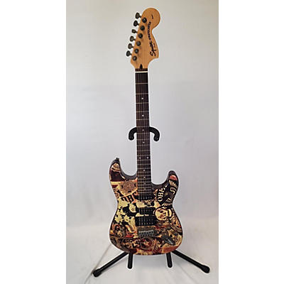 Squier OBEY Stratocaster Solid Body Electric Guitar