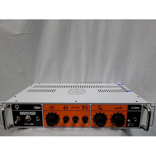 Orange Amplifiers OBI-500 Tube Bass Amp Head