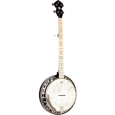 Ortega OBJE400TBL Falcon 5-String Acoustic-Electric Banjo