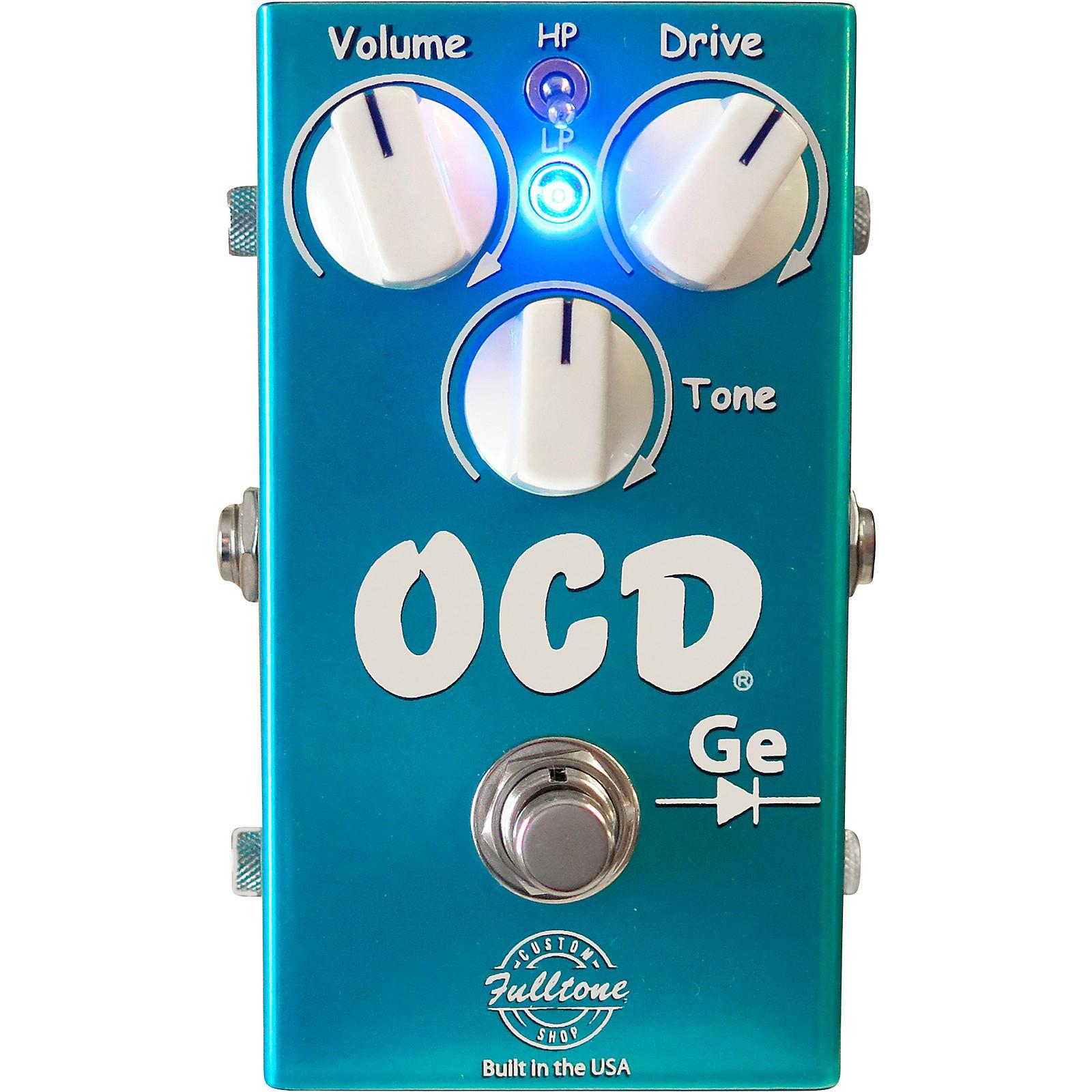 Fulltone Custom Shop OCD-Ge Germanium Overdrive Effects Pedal
