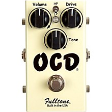 Open Box Fulltone OCD Obsessive Compulsive Drive Overdrive Guitar Effects Pedal