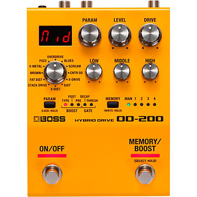 Boss OD-200 Hybrid Drive Effects Pedal
