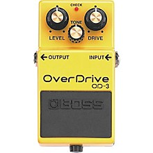 Open Box Boss OD-3 OverDrive Pedal