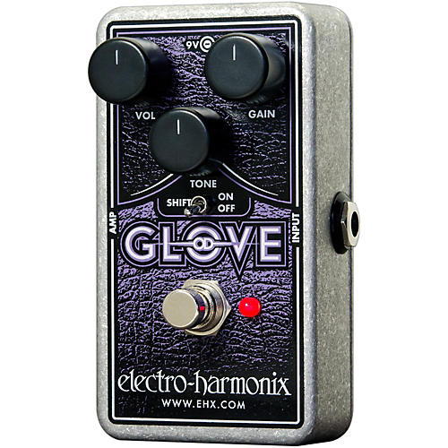 Electro-Harmonix OD Glove Overdrive/Distortion Effects Pedal