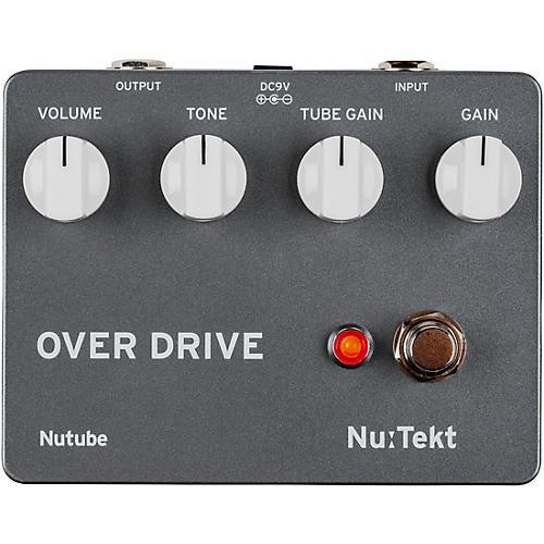 Korg OD-S Nutube Overdrive Effects Pedal Kit Black