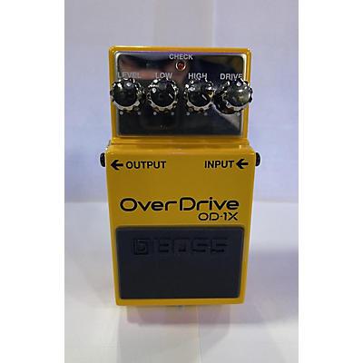 Boss OD1X Overdrive Effect Pedal