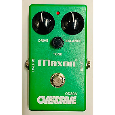 Maxon OD808 OVERDRIVE LIMITED EDITION 40TH ANNIVERSARY Effect Pedal