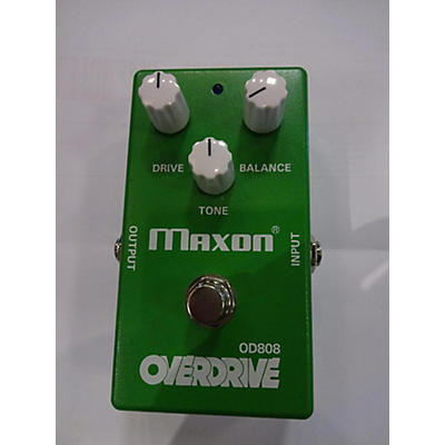 Maxon OD808 Overdrive 40TH ANNIVERSARY Effect Pedal