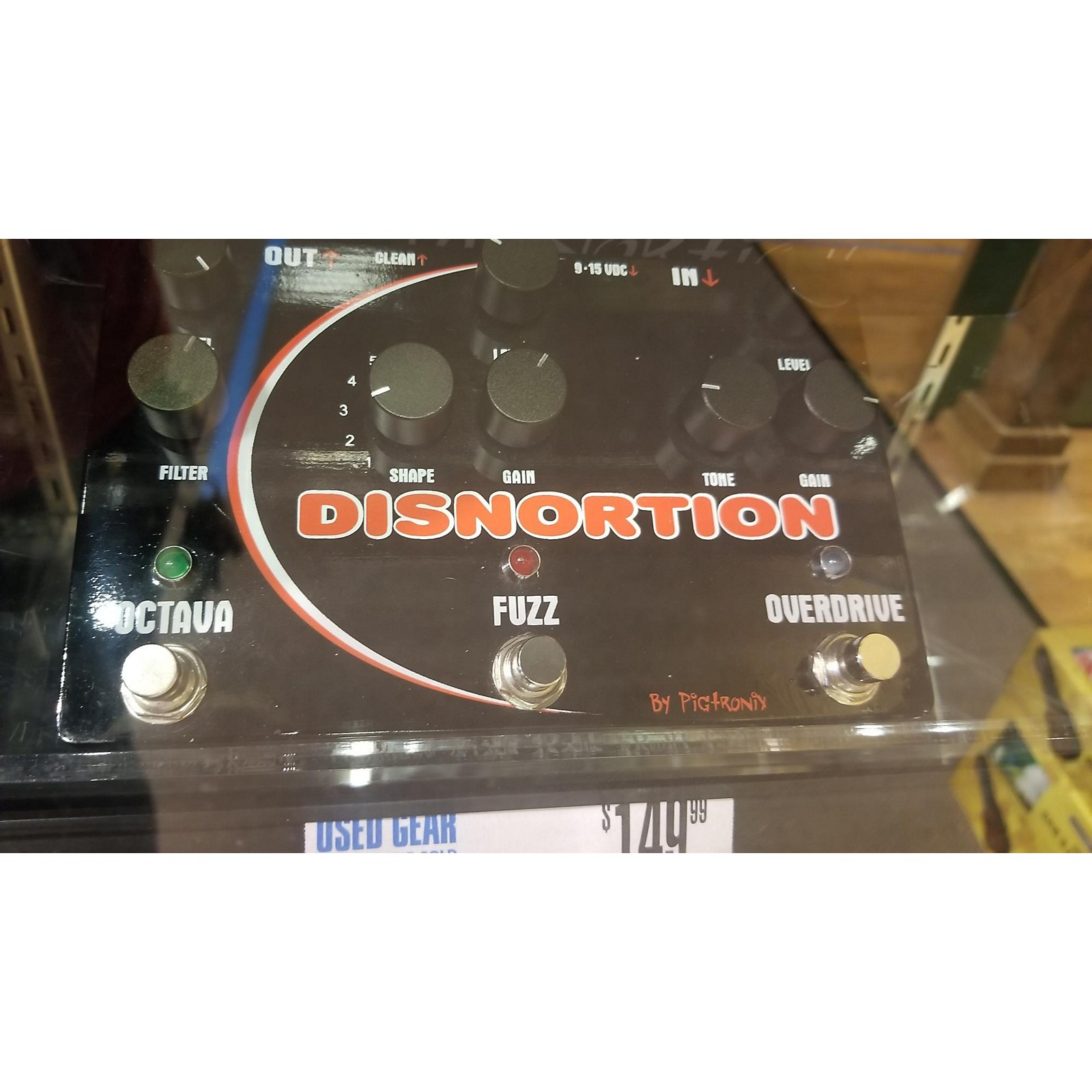 Pigtronix OFO Disnortion Effect Pedal