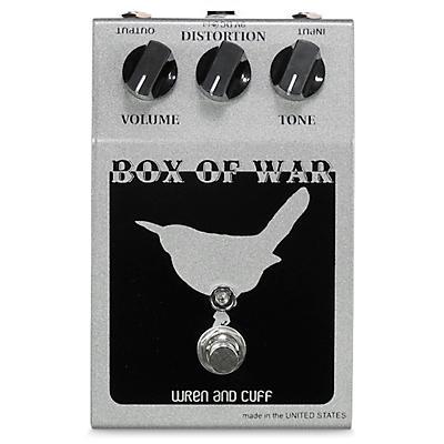 Wren And Cuff OG Box of War Reissue Distortion Effects Pedal