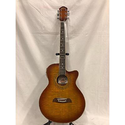 Oscar Schmidt OG10CEFYS Acoustic Electric Guitar