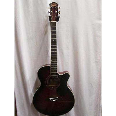 Oscar Schmidt OG10CETR Acoustic Electric Guitar