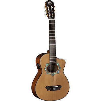 Oscar Schmidt OH30SCE-O Acoustic Electric Requinto Guitar