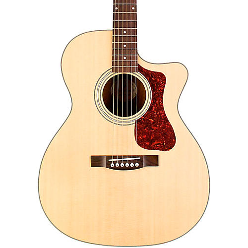 Guild OM-240CE Orchestra Cutaway Acoustic-Electric Guitar Natural