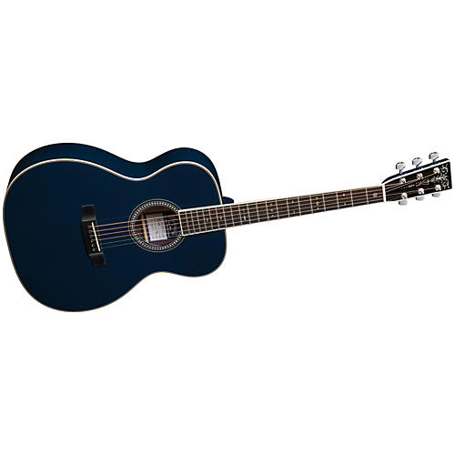 Martin OM Eric Clapton / Hiroshi Fujiwara Navy Blues Acoustic Guitar