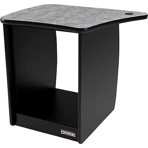Omnirax OM13DL 13 RU Left Side Cabinet for OmniDesk Suite Pewter Brush