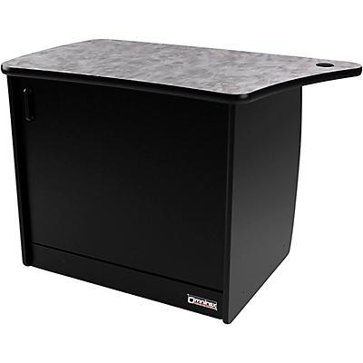 Omnirax OM13DL 13 RU Left Side Cabinet with Door for OmniDesk Suite