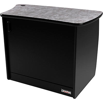 Omnirax OM13DL 13 RU Right Side Cabinet with Door for OmniDesk Suite