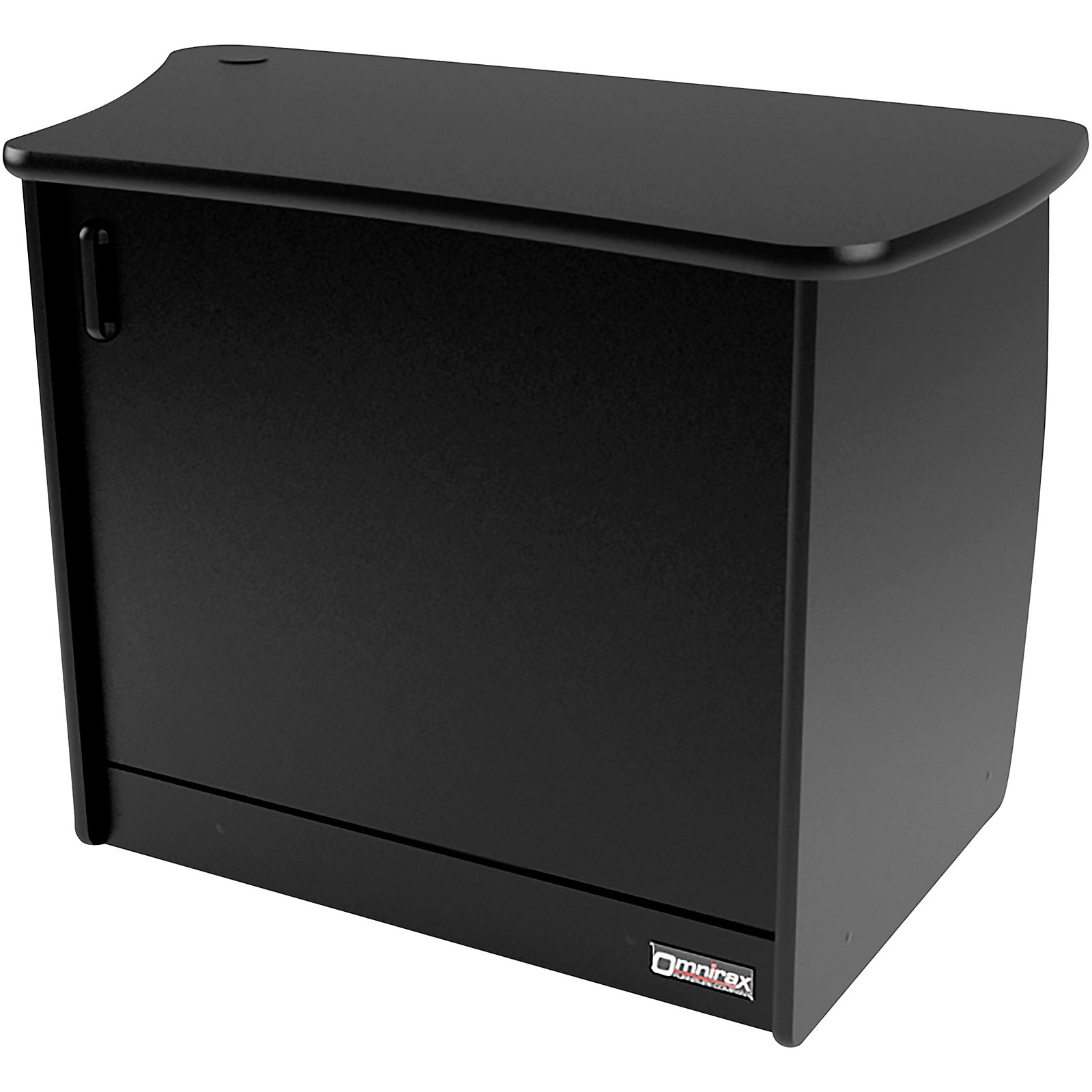 Omnirax OM13DR 13-Rackspace, CPU Cubby, and Door to Fit on the Right Side of the OmniDesk - Black