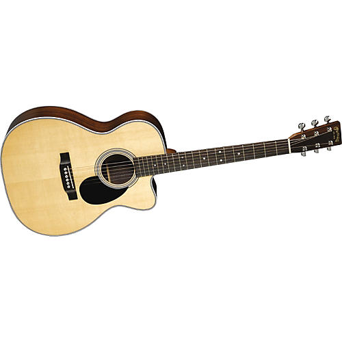 Martin OMC-28E Orchestra Acoustic Electric Guitar with Case