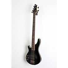 Open BoxSchecter Guitar Research Omen-5 Bass Left-Handed Electric Guitar