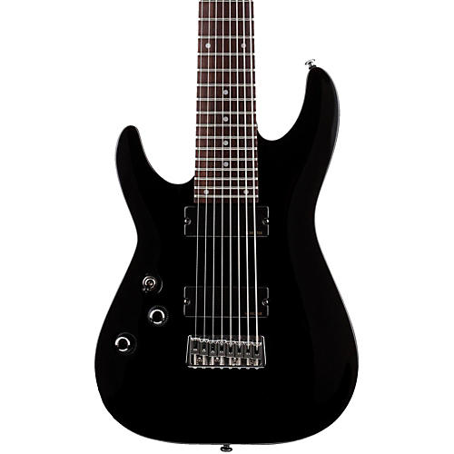 Schecter Guitar Research OMEN-8 Left-Handed Electric Guitar Black