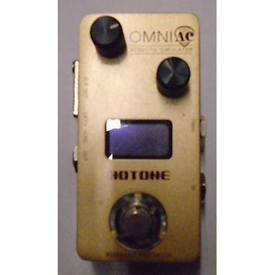 Hotone Effects OMNIAC ACOUSTIC SIM Effect Pedal