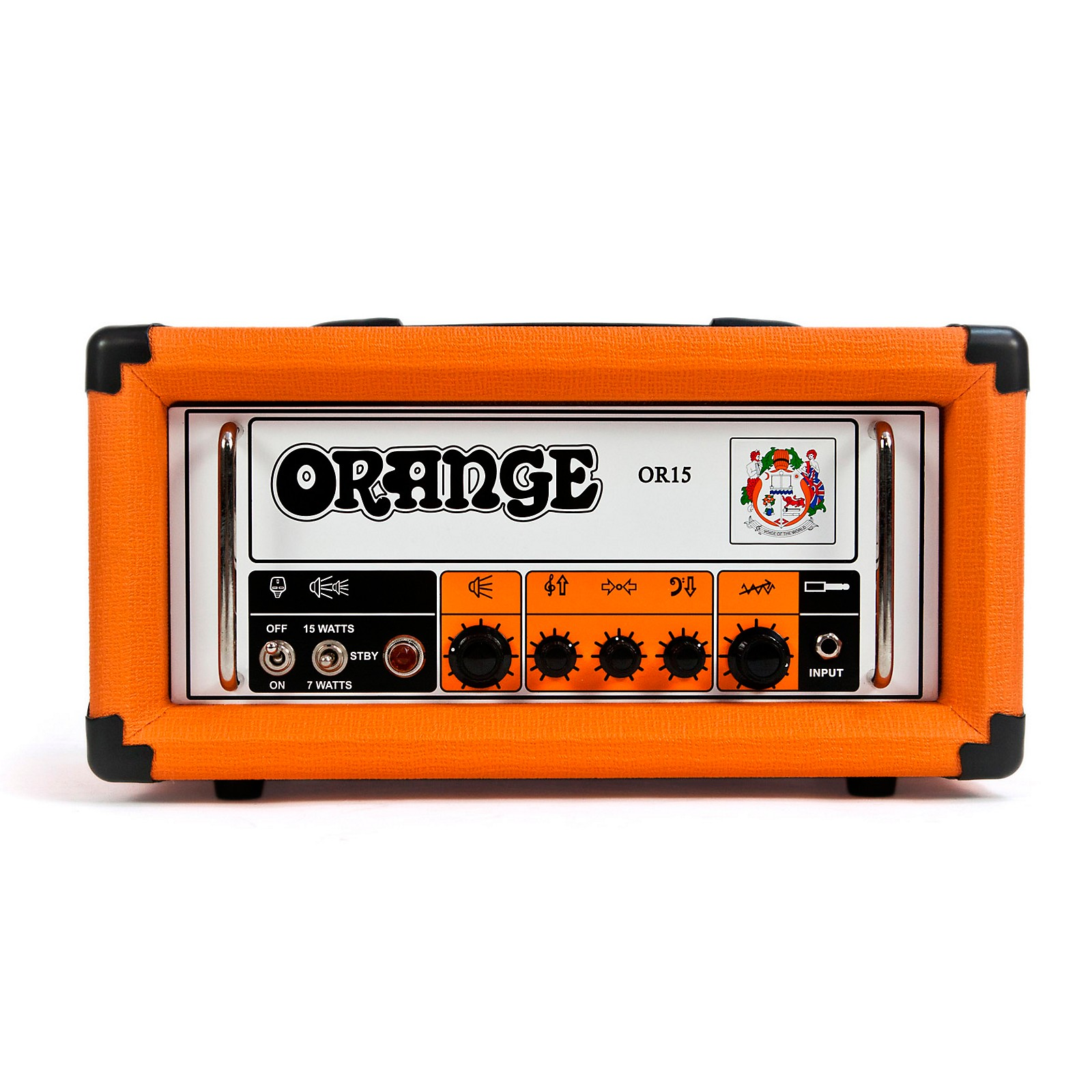 Orange Amplifiers OR Series OR15H 15W Compact Tube Guitar Amp Head