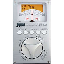 Open BoxKorg OT-120 Chromatic Orchestral Tuner
