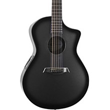 Open Box Composite Acoustics OX Charcoal Acoustic-Electric Guitar
