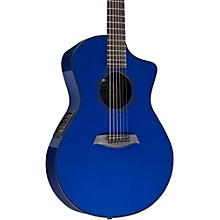 OX ELE Carbon Fiber Acoustic Guitar Blue