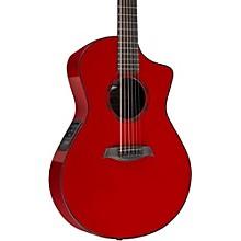 OX ELE Carbon Fiber Acoustic Guitar Red