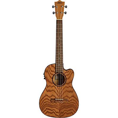 Lanikai Oak Acoustic-Electric Baritone Ukulele With Cutaway