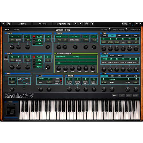Arturia Oberheim Matrix 12V Software Synthesizer Software Download