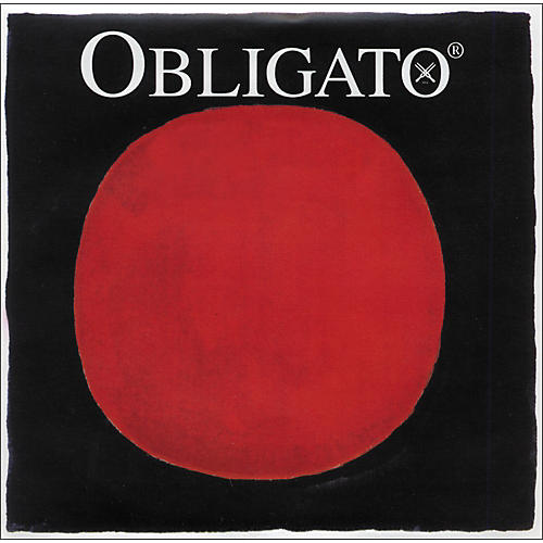 Pirastro Obligato Series Violin String Set 4/4 Medium - E Steel Ball End