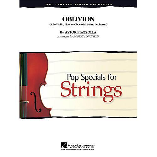 Hal Leonard Oblivion Pop Specials for Strings Series Arranged by Robert Longfield