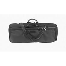 Oblong Violin Case Slip-On Cover Black with Backpack Straps