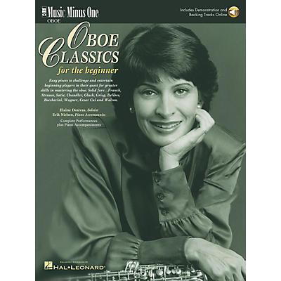 Music Minus One Oboe Classics for Beginner Music Minus One Series BK/CD