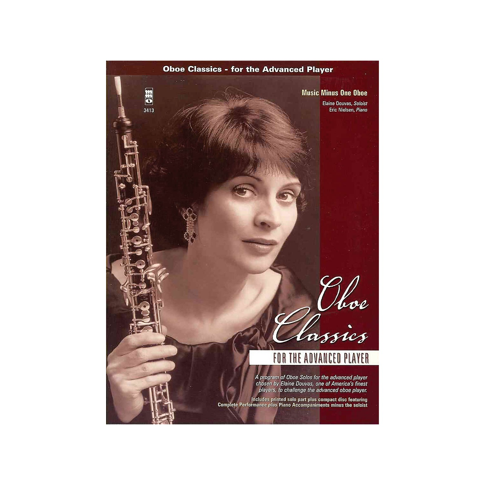 Music Minus One Oboe Classics for the Advanced Player Music Minus One Series BK/CD by Various