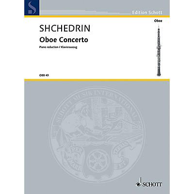 Schott Oboe Conc (Oboe and Piano Reduction) Woodwind Series