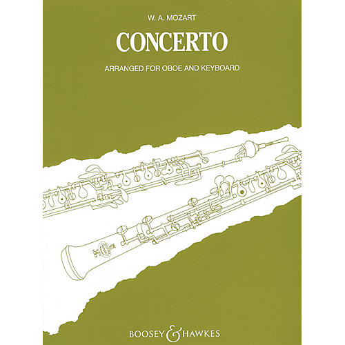 Boosey and Hawkes Oboe Conc in C, K. 314 Boosey & Hawkes Chamber Music Series by Wolfgang Amadeus Mozart