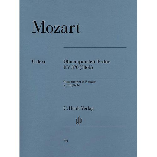 G. Henle Verlag Oboe Quartet F Major K.370 (368b) Henle Music Folios Series Softcover by Wolfgang Amadeus Mozart