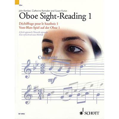 Schott Oboe Sight-Reading 1 Misc Series Edited by John Kember